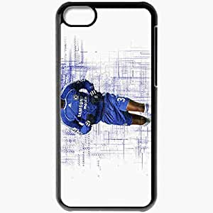 Personalized iPhone 5C Cell phone Case/Cover Skin Anelka Nicolas Anelka Football Black