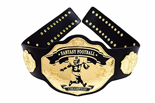 Fantasy Football Championship Belt Trophy Prize High-step