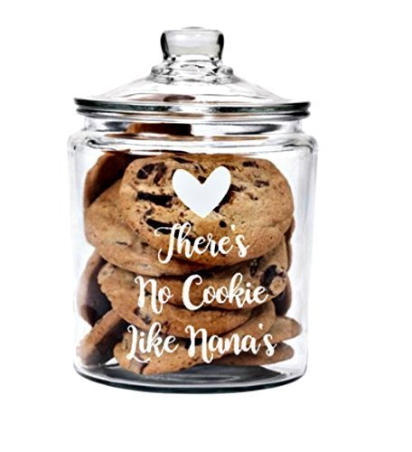 Personalized 1/2 Gallon Cookie Jar with - Jar Classic Cookie