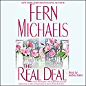 Real Deal Audiobook by Fern Michaels Narrated by Andrea Gallo