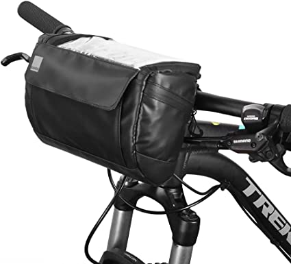 Bike Handlebar Bag Bicycle Front Basket Storage Bag Outdoor Cycling Riding Pack