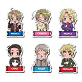 Hetalia Die Cut Stickers