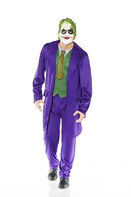 Hombre Disfraz de Joker Batman - The Dark Knight: Amazon.es ...