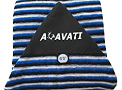 Acavati Performance Series Surfboard Sock - Designed by True Waterman  High Quality Surfboard Sock  Premium quality components All New Materials Machine Washable, hang dry recommended Stretch fabric. Zip Closure Padded fabric nose protector  ...