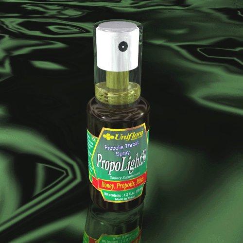 PROPOLIGHT30 - 35 ml - BRAZILIAN BEE PROPOLIS THROAT SPRAY (1 BOTTLE)