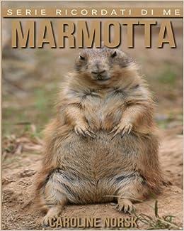 Marmotta: Libro sui Marmotta per Bambini con Foto Stupende & Storie Divertenti (Serie Ricordati Di Me)
