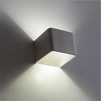 Salón creativo dormitorio pasillo luces pared lámparas, personalidad decorada escalera led lámpara de noche , 1: Amazon.es: Iluminación