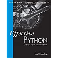 Deals on Effective Python: 59 Specific Ways to Write Better Python Paperback