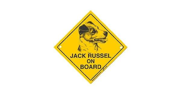 Jack Russel - On Board Con Ventosa - cartel de Adventure Dog ...
