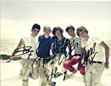 One Direction full band reprint signed photo #3 RP