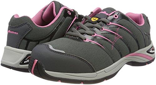 Chaussures De Mixte Low grey Adulte Multicolour pink Sécurité Wns Pink Twist Albatros wq6XI