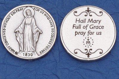 Miraculous Pocket Coin Catholic Coins