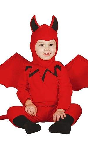 Disfraz de Diablo baby 6-12 meses: Amazon.es: Juguetes y juegos