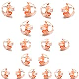 HYS Ear mold Earbud Replacement Earpiece Ear mold for Ham Radio Coil Tube Audio Kits (9 Pairs: 3 Pairs-Large, 3 Pairs-Medium, 3 Pairs-Small)