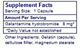 Premium Galantamine Supplement, Mountains in Wales, 180 x 8mg Capsules = 1440mg Total, Smart Memory, Lucid Dream Yoga, Dreaming