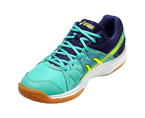 Asics Gel-Upcourt, Chaussures de Squash Femme green