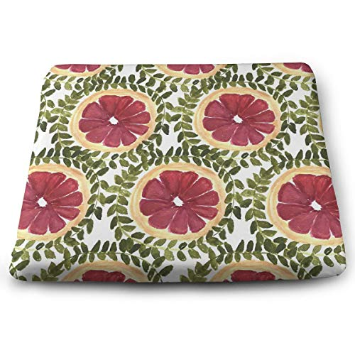 Comfortable Seat Cushion Chair Pad Red Grapefruit Type Perfect Memory Foam Cushions Lighten The Bumps
