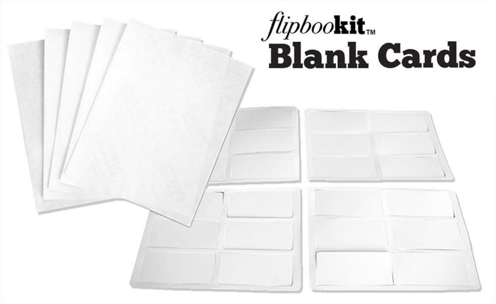 1 pack Flipbookit Blank DIY Cards and Printable Labels