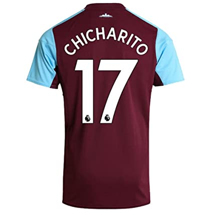 reputable site 4986a af7e0 Amazon.com : West Ham United Home Chicharito Jersey 2017 ...