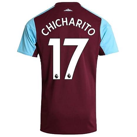 sale retailer ba6f1 8ff3c Umbro West Ham Home Chicharito 17 Shirt 2017 2018 (Official ...