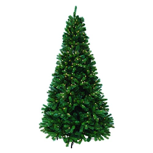 Artificial Christmas Tree With Colored Led Lights
