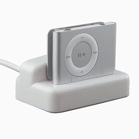 Xiton Hotels USB Hotsync Carga Dock Base Cargador de Escritorio para Apple iPod Shuffle 2da generación