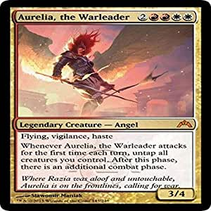 Amazon.com: Magic: the Gathering - Aurelia, the Warleader ...