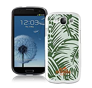 Fashionable And Durable Custom Designed Cover Case For Samsung Galaxy S3 I9300 With Hermes 18 White Phone Case