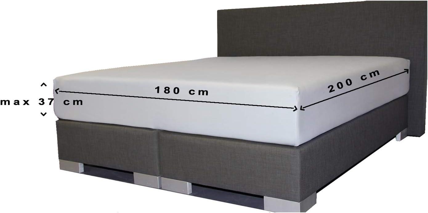 24-Bedding Molton Spannbettlaken Spannbetttuch 80 x 220 cm