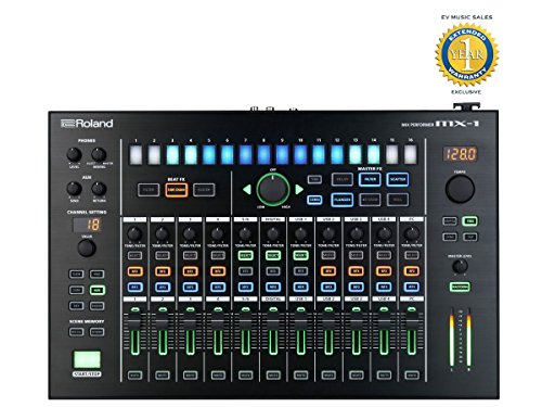 Roland MX-1 Mix Performer 18-channel Performance Mixer with 1 Year Free Extended Warranty by R O L A N D