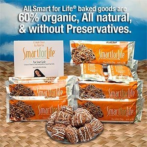 Smart For Life® 14-day Chocolate Chip Smart Cookies Squares by Smart for Life