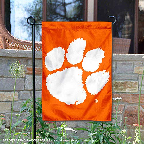 College Flags and Banners Co. Clemson Tigers Garden Flag