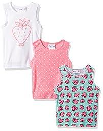 Freestyle Revolution Toddler Girls\' 3pk Strawberry Picnic Tanks Sets, Multi, 2T