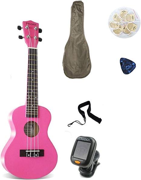 Ukelele Guitarra Bajo Instrumentos Concierto Principiante ...