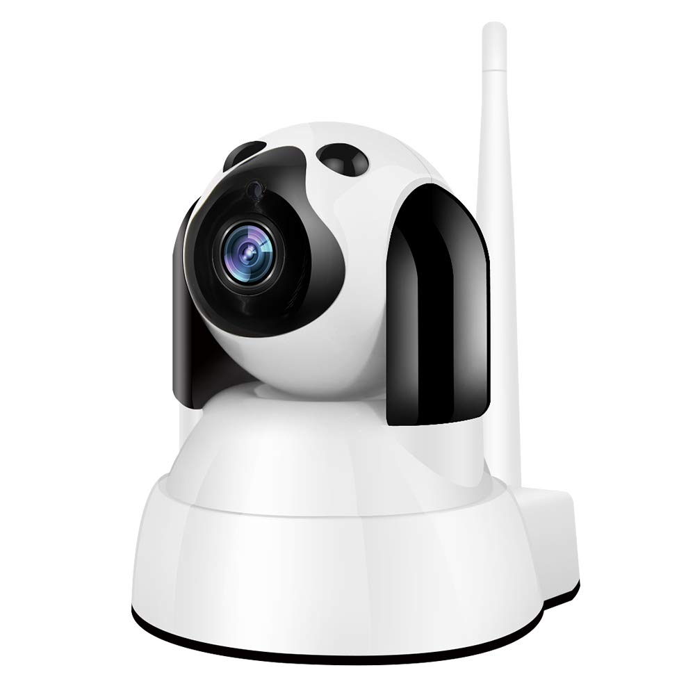 Zhiliao Smart WiFi Camera 720P for Home Security, Baby Monitor, Dogs, pet  Camera with Pan/Tilt Remote 2 Way Talk Motion Detection and Night Vision IP
