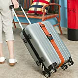 Darller 4 PCS Luggage Straps Suitcase Belts