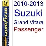 2010-2013 Suzuki Grand Vitara Wiper Blade (Passenger) (Goodyear Wiper Blades-Premium) (2011,2012)