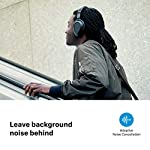 Sennheiser PXC 550-II Wireless Headphone with Alexa Built-in, Noise Cancellation and Smart Pause – Black