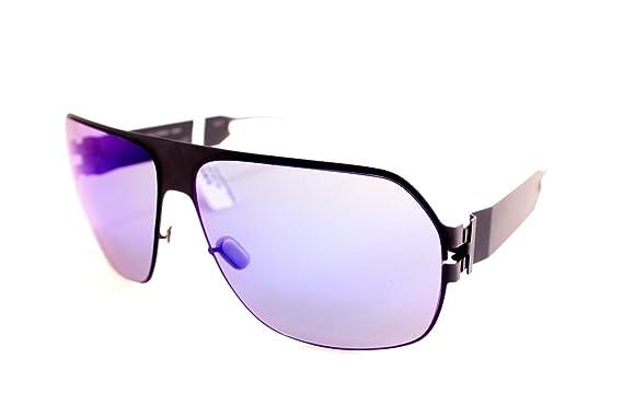 Amazon.com: anteojos de sol Mykita Xaver F62 Gris Plata ...