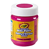 Crayola Washable Paint, 2-Ounce Bottle, Tickle Me Pink,  School, Craft, Painting and Art Supplies, Kids, Ages 3,4, 5, 6 and Up, Holiday Toys, Stocking Stuffers, Arts and Crafts