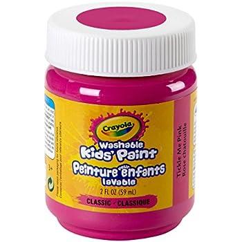 Crayola Washable Kids Paint, 2 oz, Tickle Me Pink