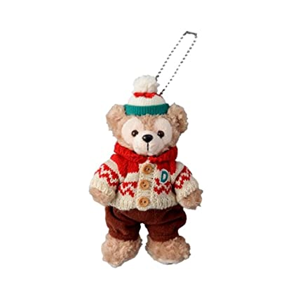 christmas 2015 duffy stuffed badge tokyo disney sea limited 2015 duffy xmas - Disney Christmas 2015