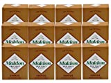 Maldon Smoked Sea Salt (Case of 12 - 4.4 Ounce Boxes)