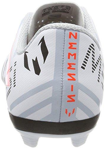 adidas Jungen Nemeziz Messi 17.4 FxG J Fußballschuhe Mehrfarbig (Ftwr White/solar Orange/clear Grey S12)