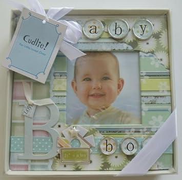 Cudlie Photo Album Baby Boy Baby
