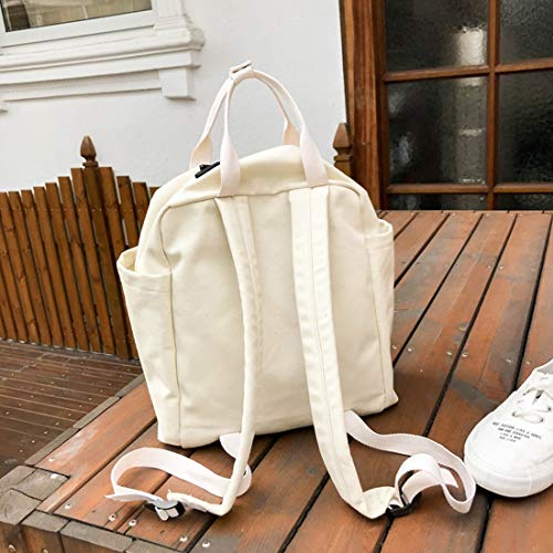 Gran color Weatly Capacidad Popular Escuela Black Popularidad Bolsas Ligera White Mochila 6BEqBp