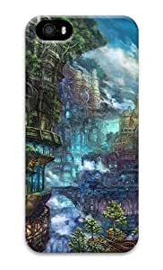 Imaginary Landscape Fantasy PC Hard Case Cover for iPhone 5S and iPhone 5