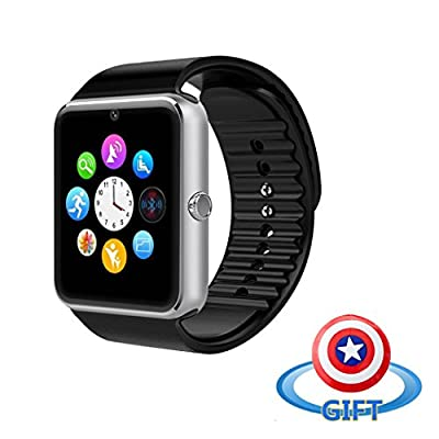 VALLENN Water Resistant Smart Watch Anti Lost and Handfree for Android 4.2 or above and Iphone 5s/6/6s/7/7s