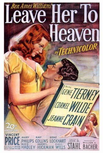 (27 x 40 Leave Her To Heaven Movie Poster)