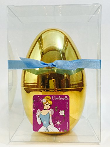 New Disney Princess and Palace Pets Inspired GOLD Surprise Egg, Princess Blind Bag, Stamper, Stickers, Candy, Tattoos and More Large 5.5 (Exclusively Made and Sold by Abundant Gifts)